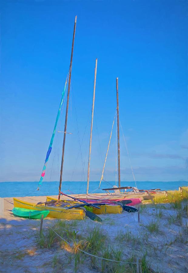Boat Photograph - Colors On The Shore by Kim Hojnacki