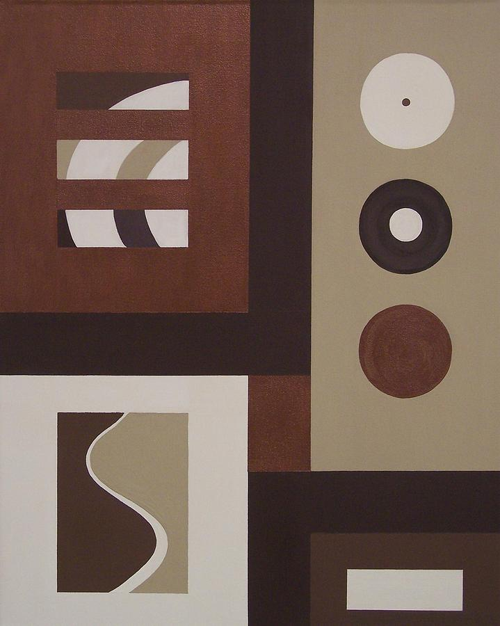 Squares Painting - Colors Without Purpose 1 by Sandy Bostelman