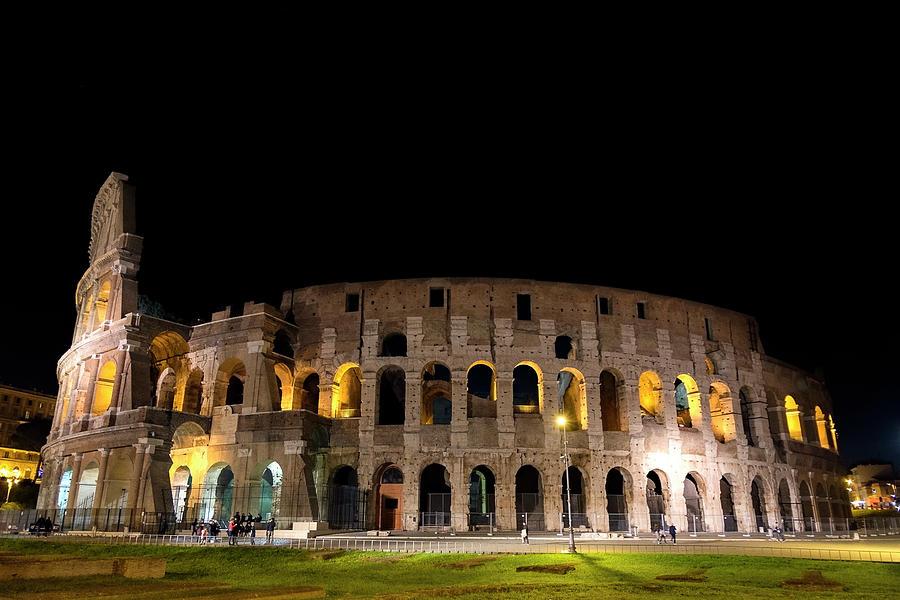 Colosseum Photograph - Colosseum by Nikos Stavrakas
