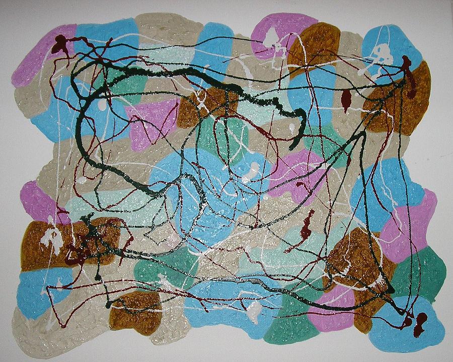 Shapes Mixed Media - Colour And Shapes No 3 by Harris Gulko
