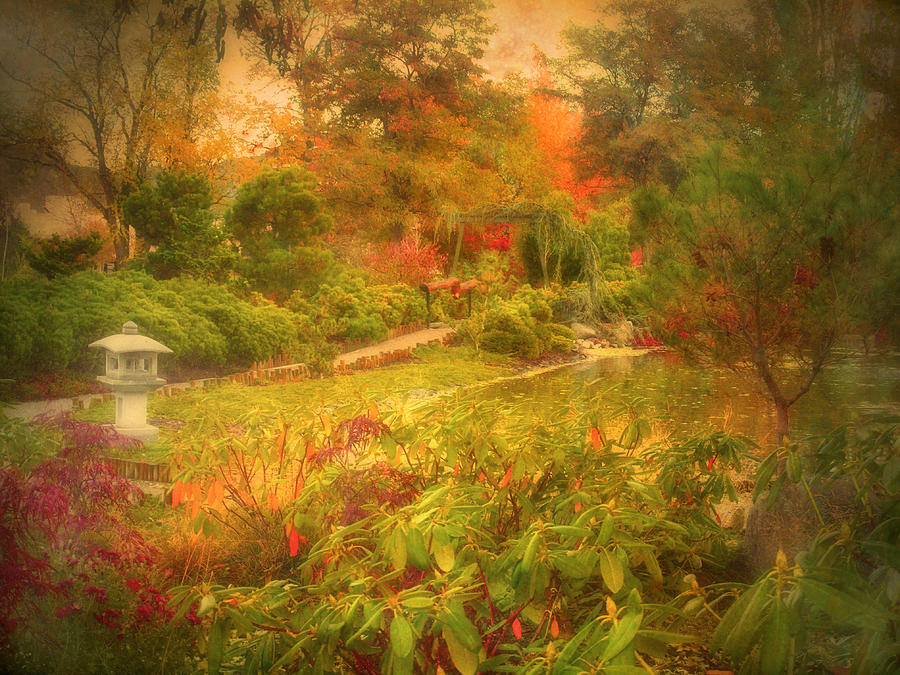 Autumn Photograph - Colour Explosion In The Japanese Gardens by Tara Turner