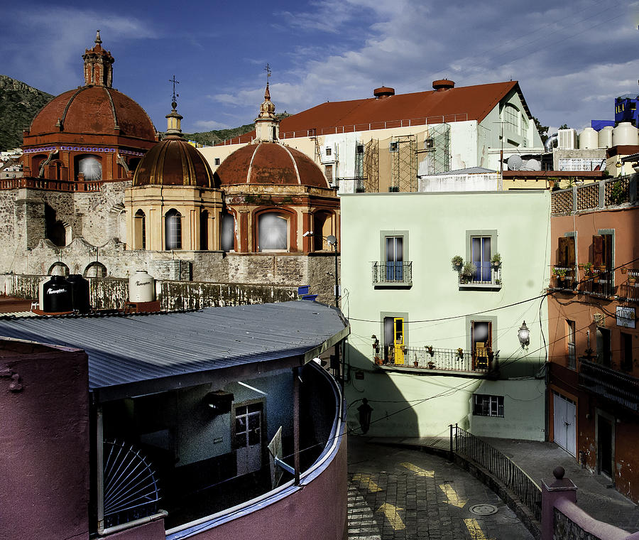 Guanajuato Photograph - Colour Of The Streets by Barry Weiss