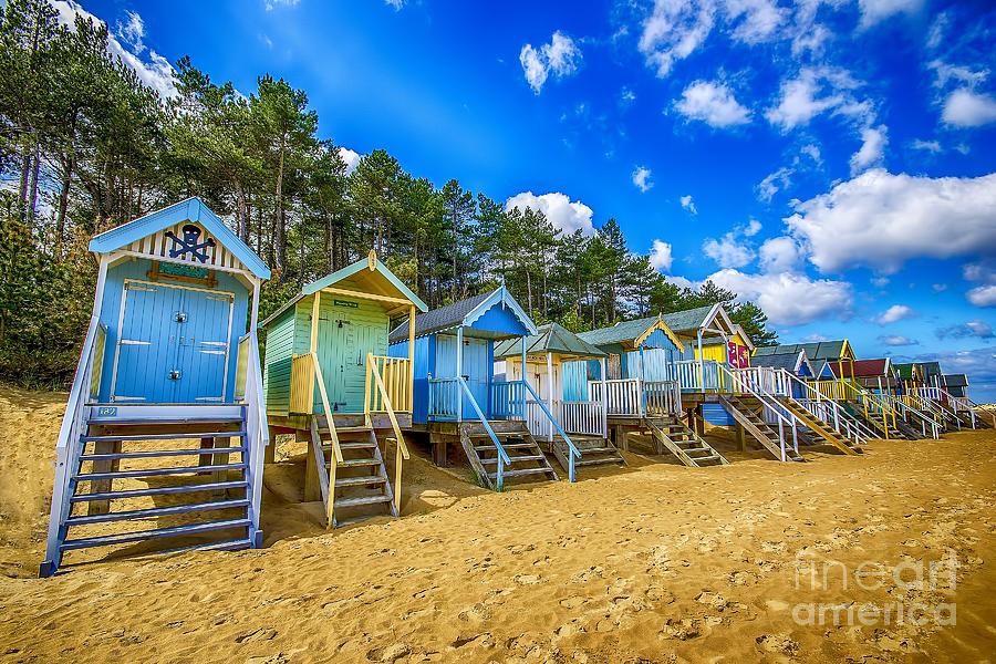Coloured Beach Huts 2 Photograph