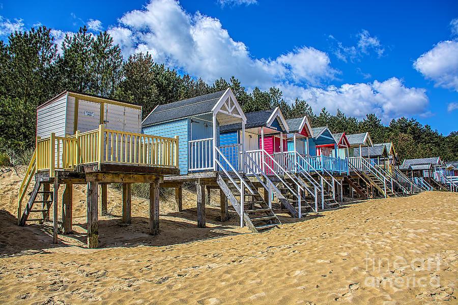 Coloured Beach Huts 3 Photograph