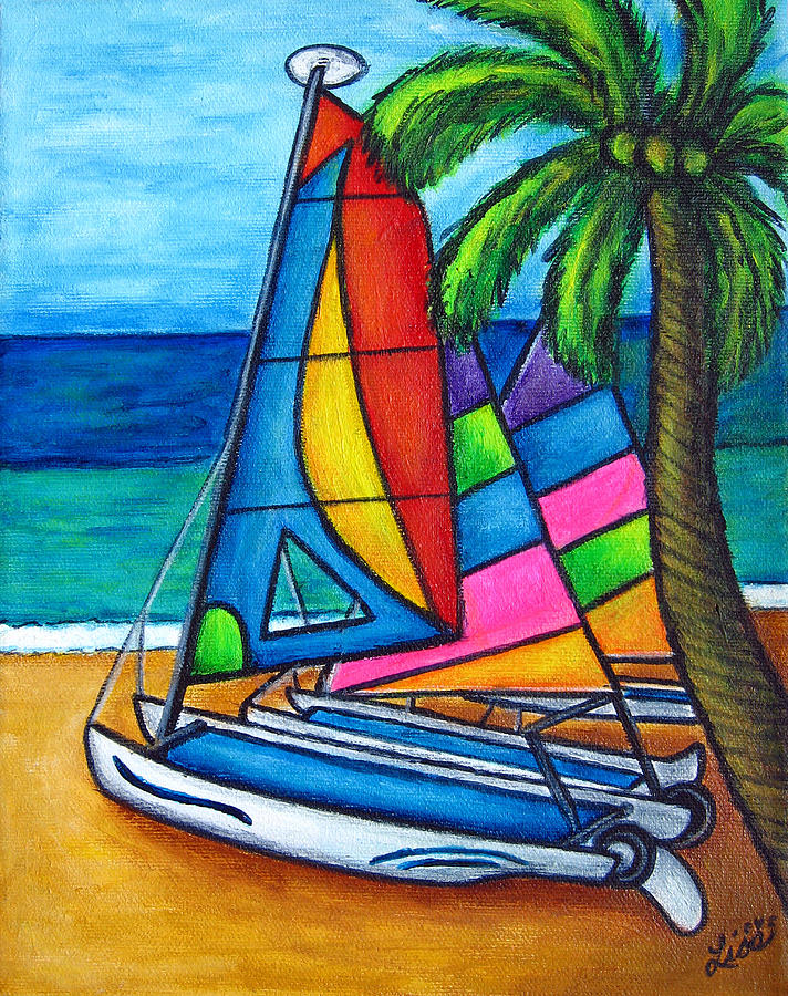 Water Painting - Colourful Hobby by Lisa  Lorenz