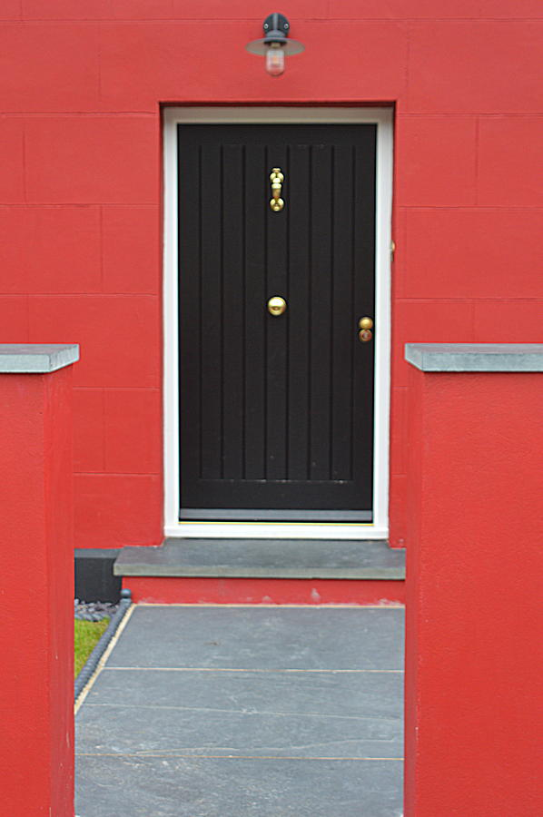 House Photograph - Colourful House by Andy Thompson