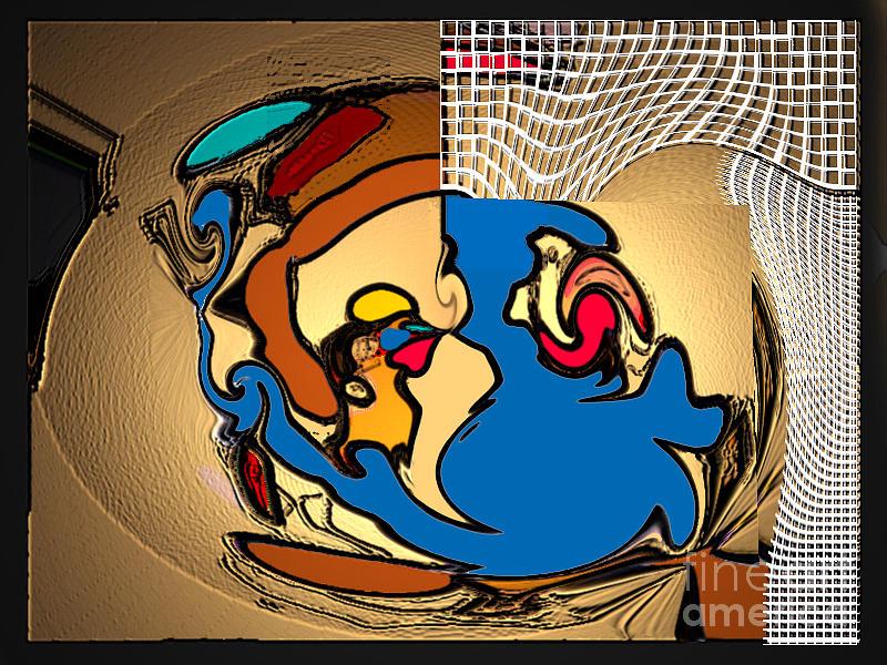 Art Work Digital Art - Colours by Aline Pottier  Gama Duarte