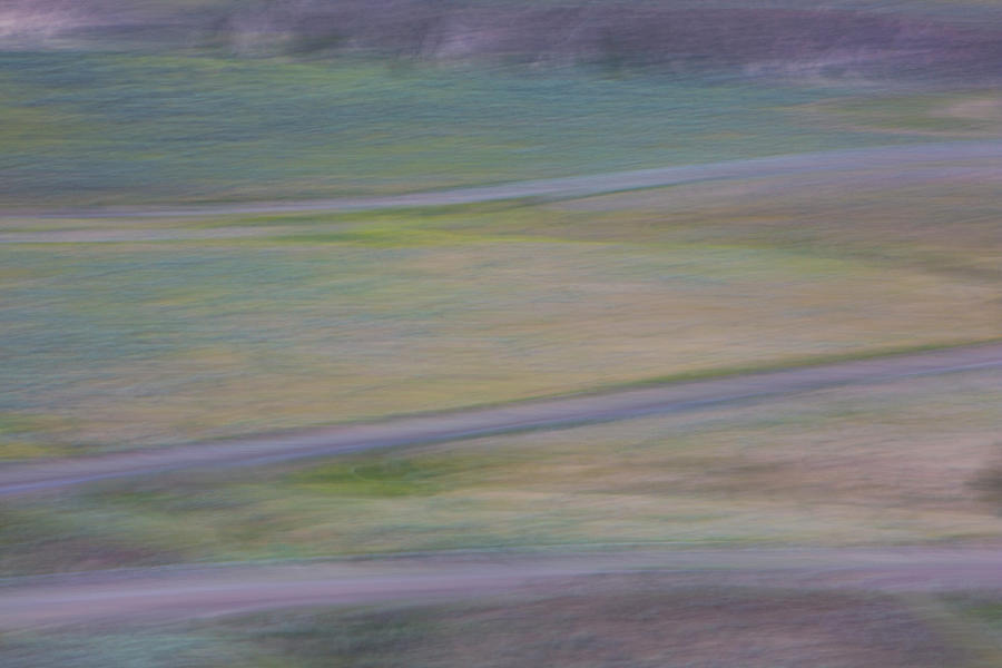 Colours of Farwell Canyon 2 by Phil Dyer