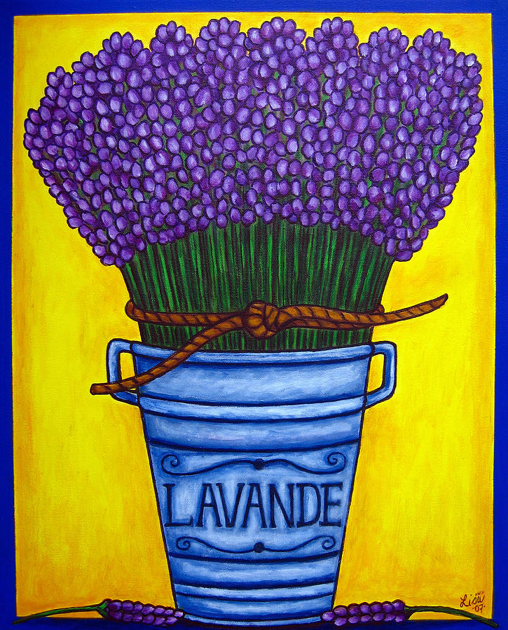 Antique Painting - Colours Of Provence by Lisa  Lorenz
