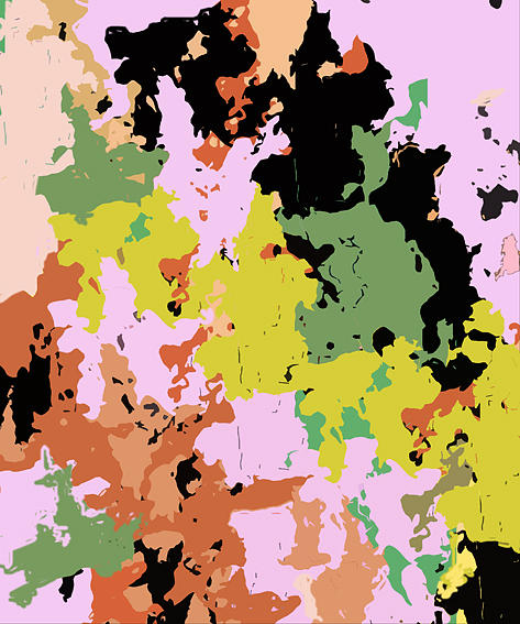 Painting Digital Art - Colours Of Sea Depth Iv by Ali EL HADJ TAHAR