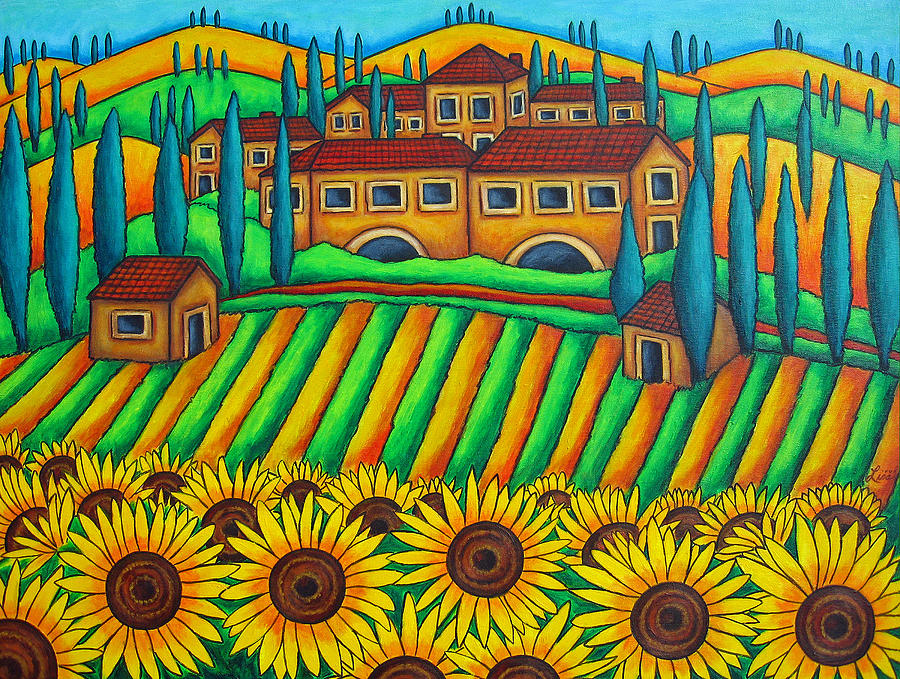 Colours of Tuscany by Lisa  Lorenz
