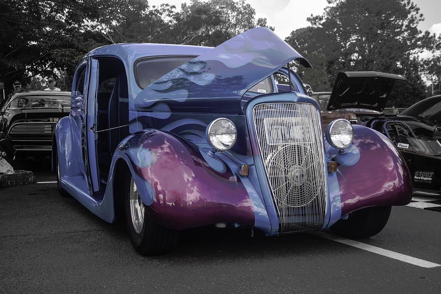 Coloursful Car Photograph
