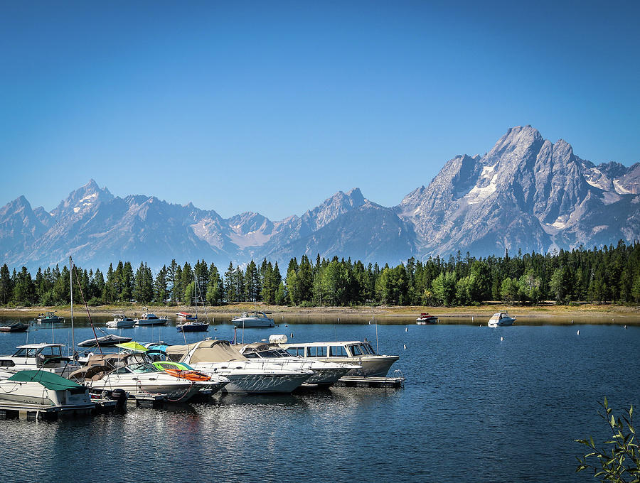 Wyoming Photograph - Colter Bay by EG Kight
