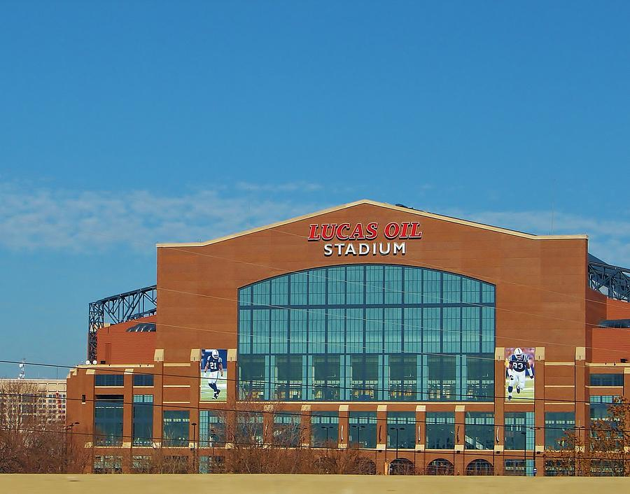 Architecture Photograph - Colts Stadium by Ranchers Eye Photography