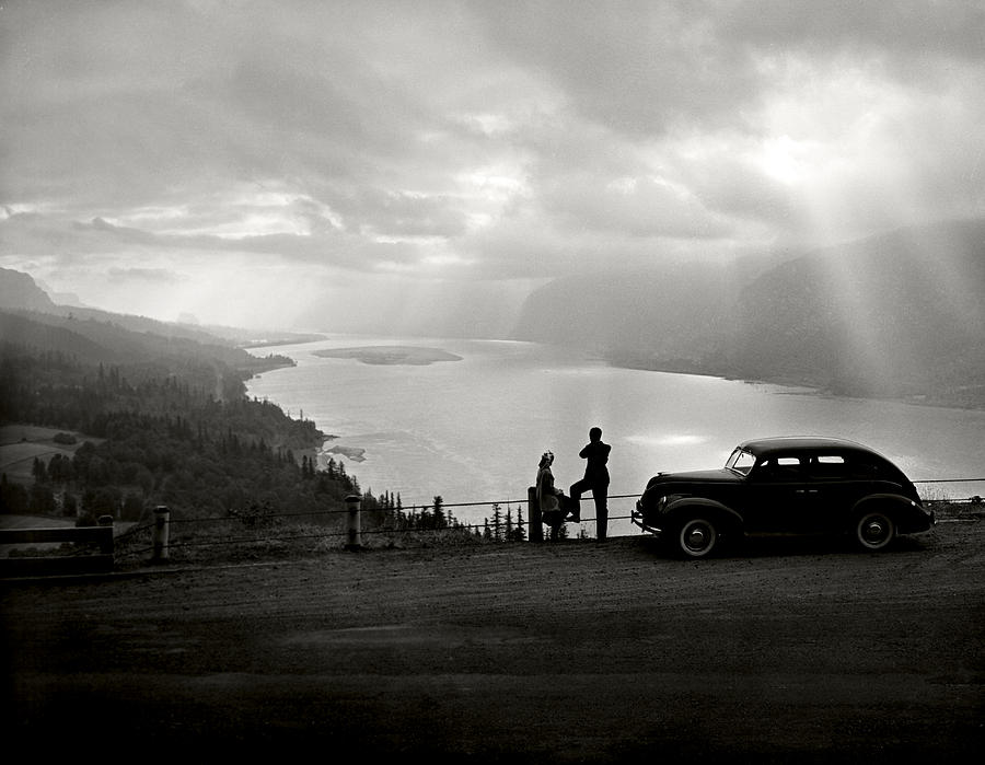 Columbia Gorge Photograph by Ray Atkinsen