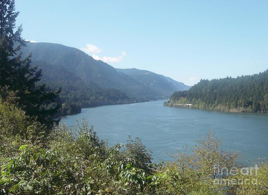 Columbia River Gorge Photograph - Columbia River Gorge 2 by Gregory Armstrong