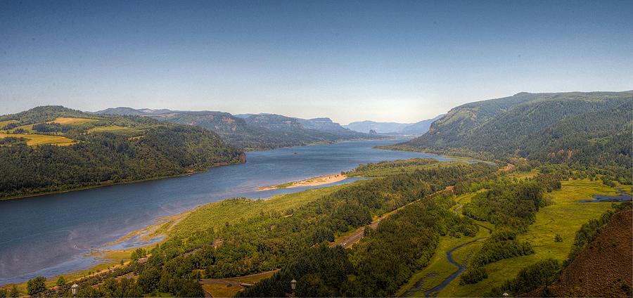 Landscape Photograph - Columbia River Gorge  by Drew Castelhano