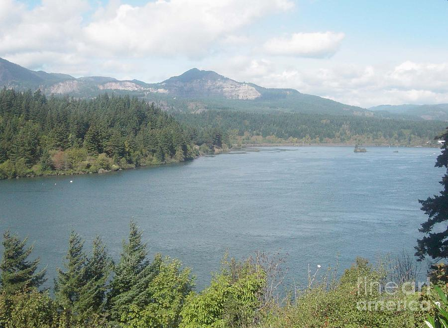 Columbia River Gorge Photograph - Columbia River Gorge by Gregory Armstrong