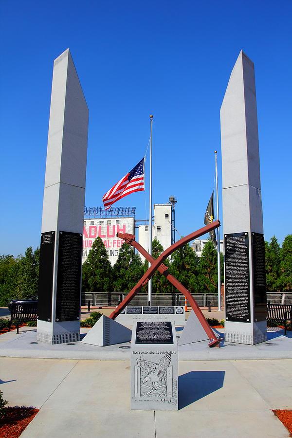 Columbia, Sc First Responders Memorial Photograph