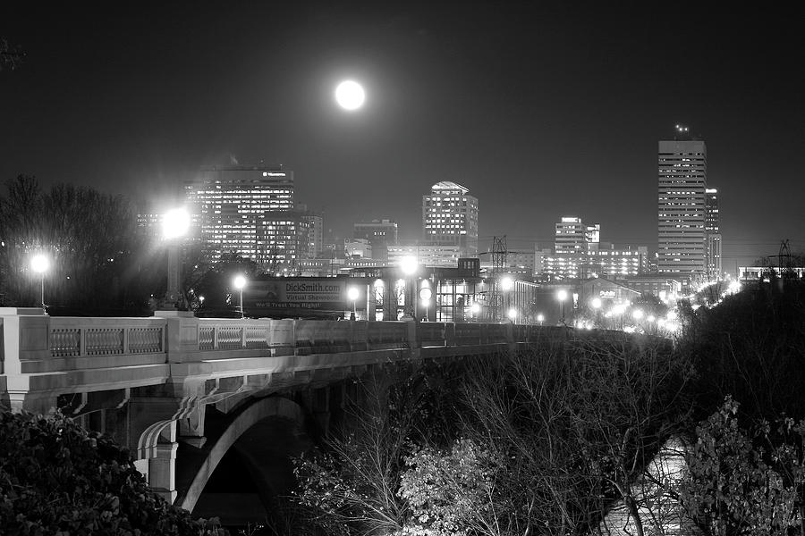 Columbia Skyline At Night Photograph