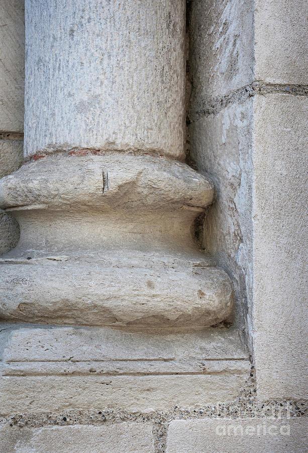 Column Photograph - Column Plinth by Elena Elisseeva