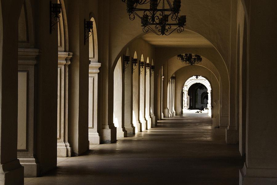 Columns Photograph - Columns by Glenn Jenks