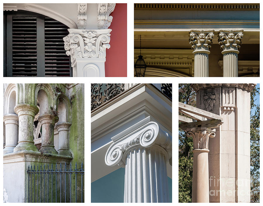Columns Of New Orleans Collage Photograph
