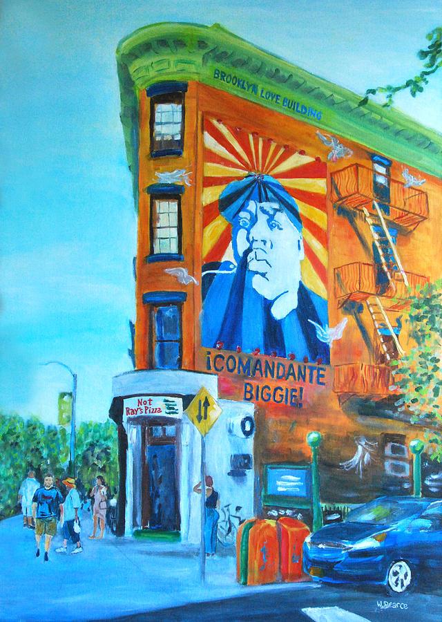 24 X 36 Painting - Comandante Biggie by Wayne Pearce