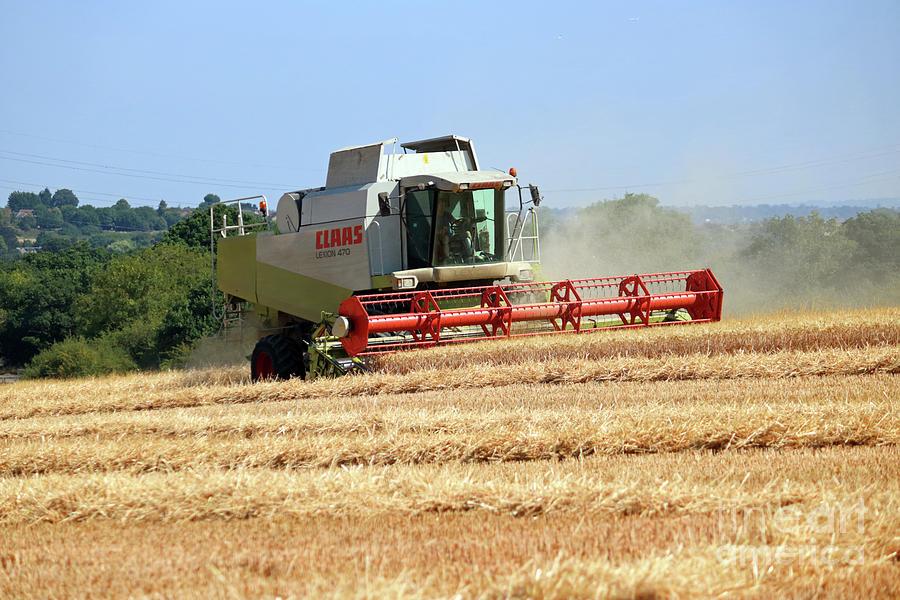 Combine Harvest Time by Julia Gavin