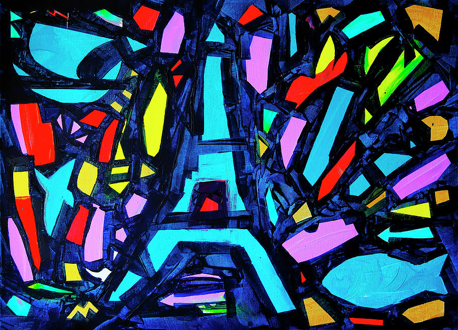 Holiday Painting - Come Back To Paris by Denys Kuvaiev