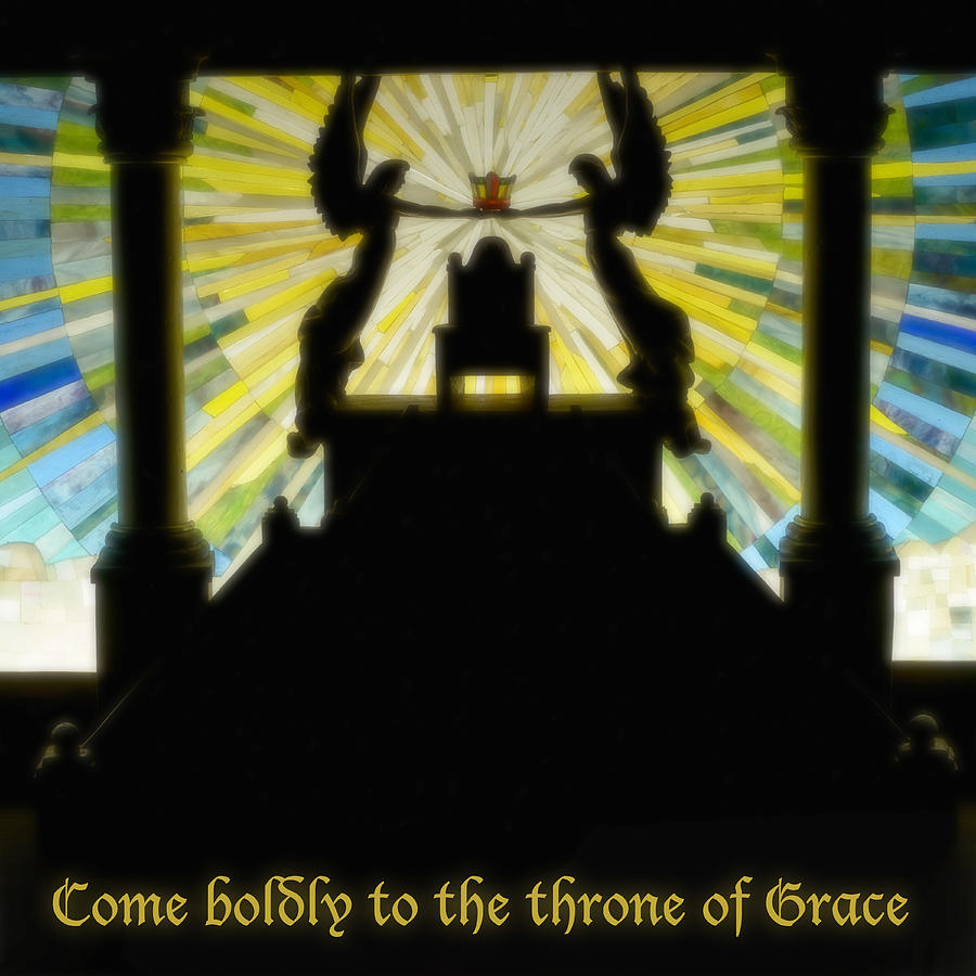 Throne Of Grace Photograph - Come Boldly To The Throne Of Grace by Cindy D Chinn