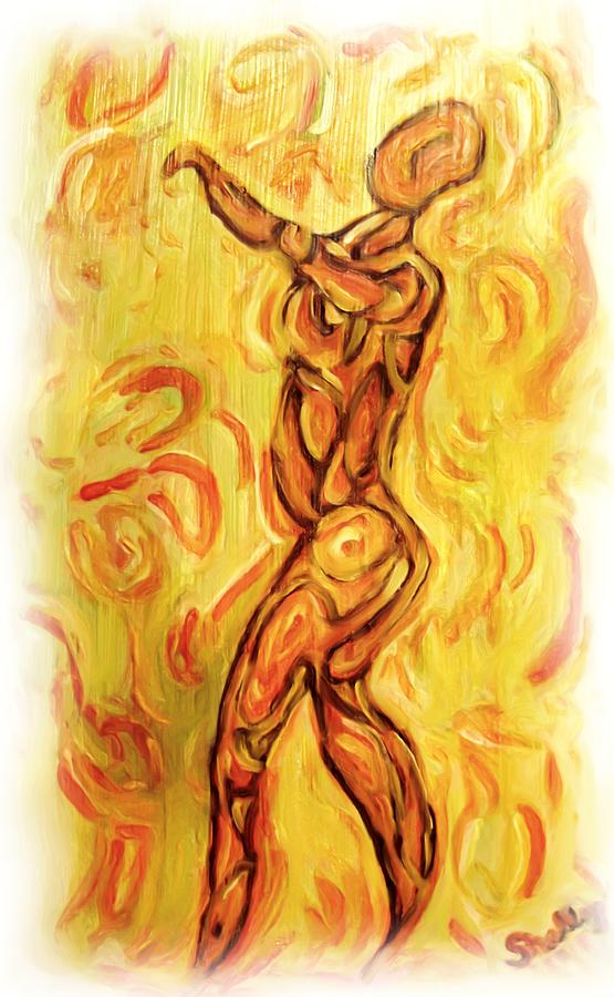 Nude Painting - Come Dance With Me by Shelley Bain