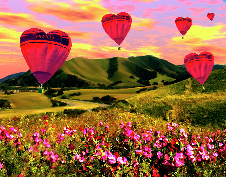 Balloons Photograph - Come Fly With Me by Kurt Van Wagner