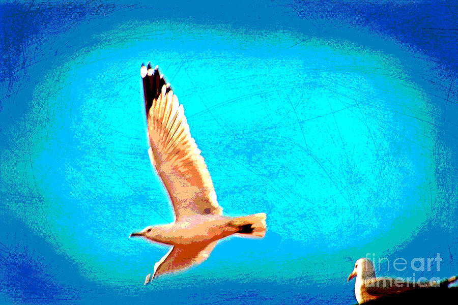 Come Fly Wlth Me Mixed Media