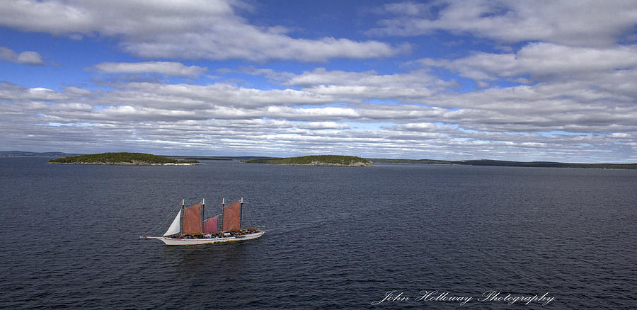 Landscape Photograph - Come Sail Away by John Holloway