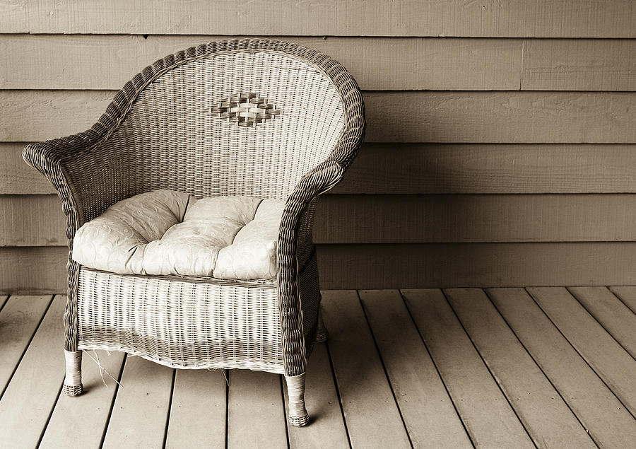 Americana Photograph - Come Sit With Me by Marilyn Hunt