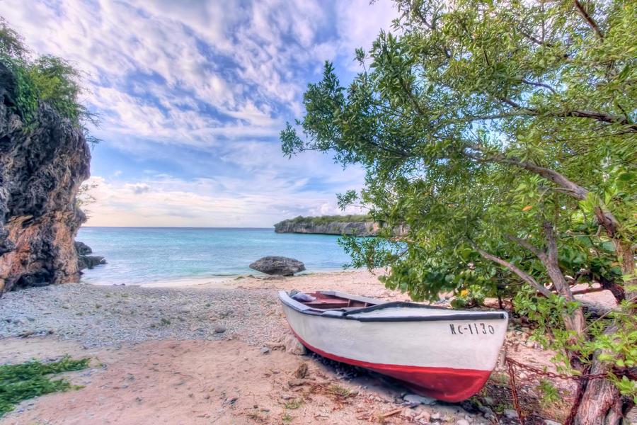 Curacao Photograph - Come to Curacao by Nadia Sanowar