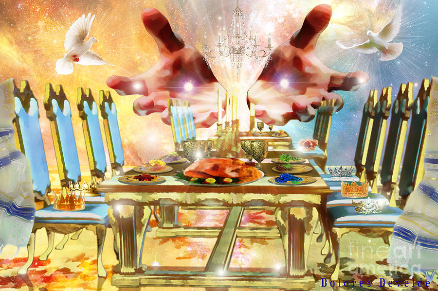 Image result for prophetic art table of  God