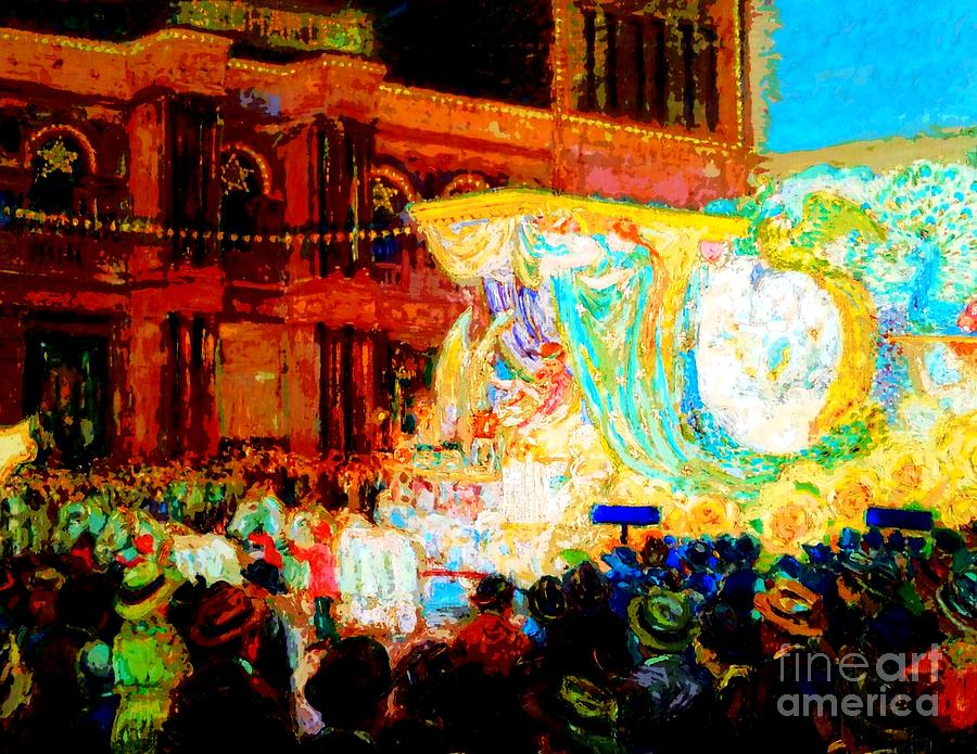 Come To The Mardi Gras In New Orleans 2017 Photograph