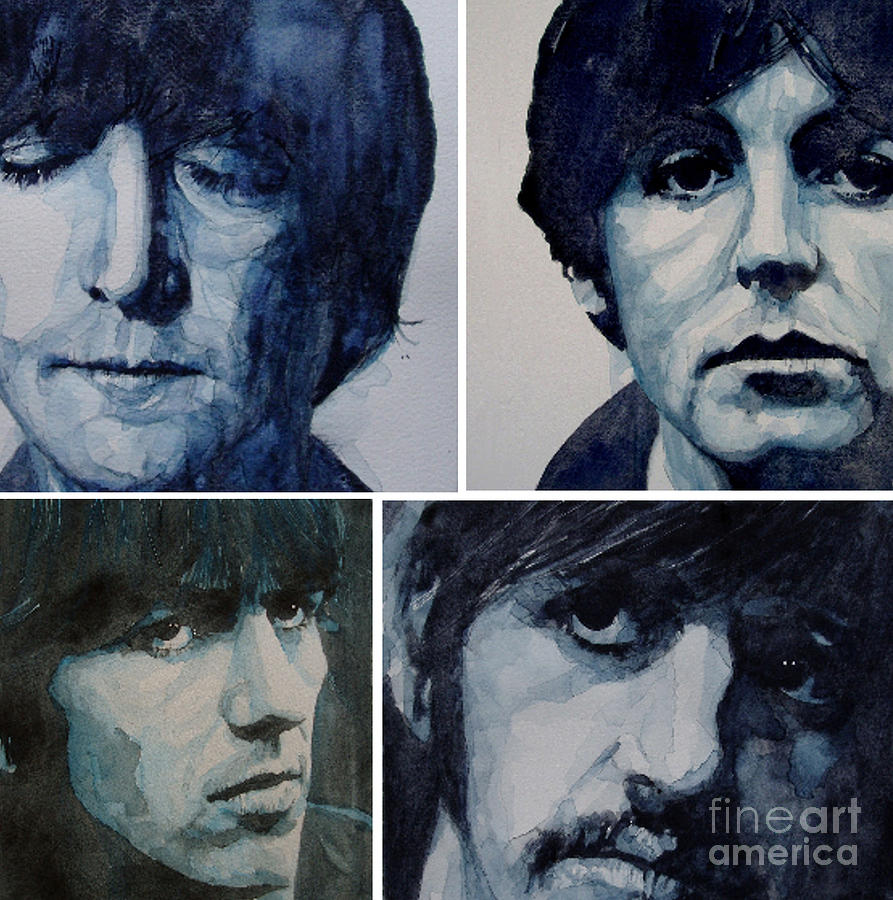 The Beatles  Painting - Come Together by Paul Lovering