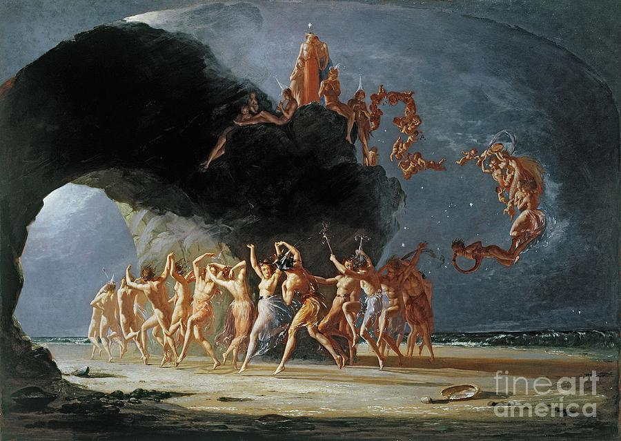 Come Unto These Yellow Sands Painting - Come Unto These Yellow Sands by Richard Dadd