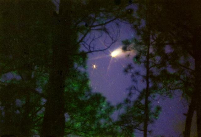 Comet Photograph - Come With Me To Neverland by Cora Busch