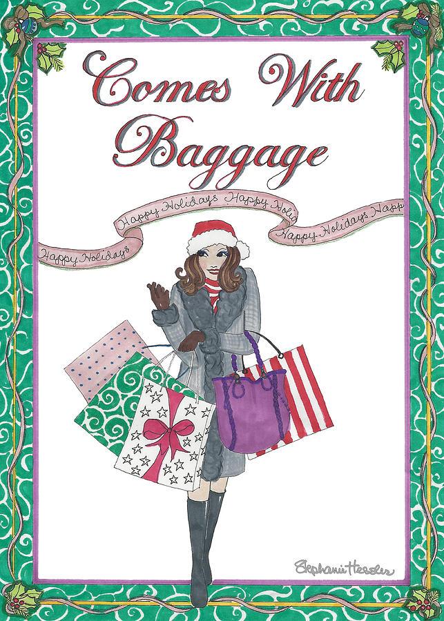 Comes with Baggage - Holiday by Stephanie Hessler