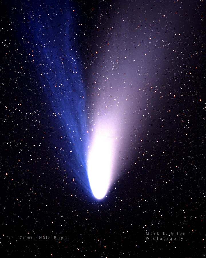 Comet Hale-Bopp by Mark Allen