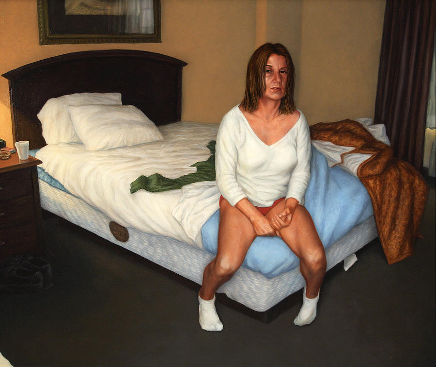Motel Painting - Comfort Inn by James W Johnson