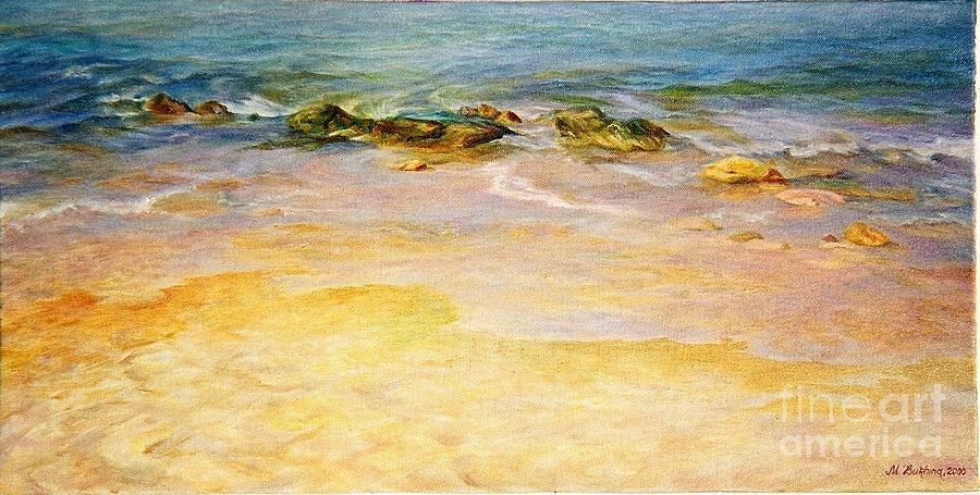Sea Painting - Comfort. by Maya Bukhina
