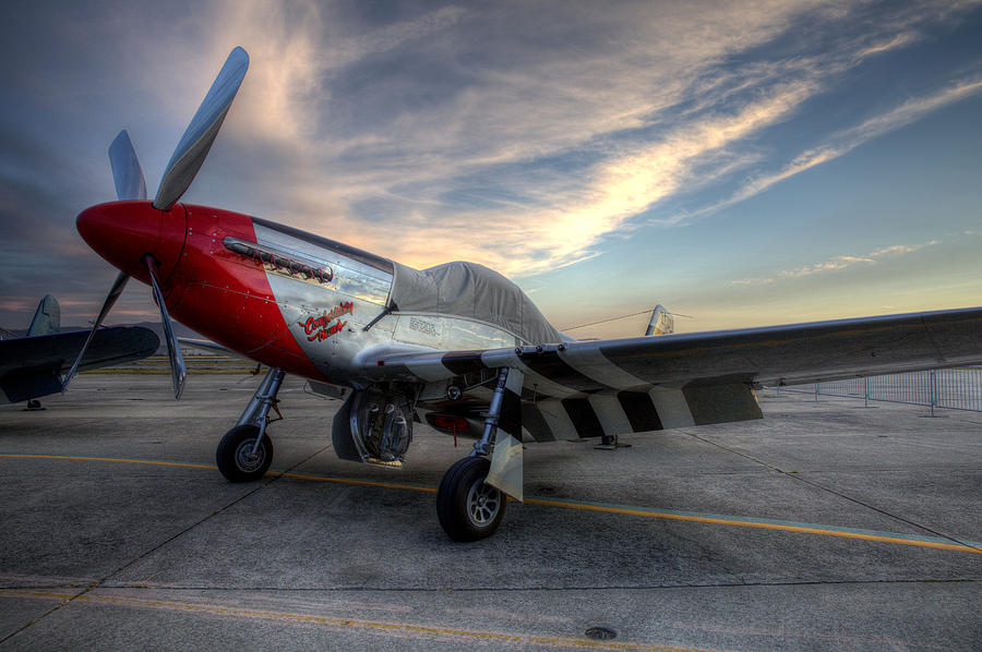 Comfortably Numb Buttoned Up For The Night At The Hollister Airshow Photograph by John King