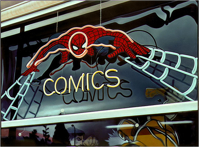 Sign Painting - Comics by Van Cordle