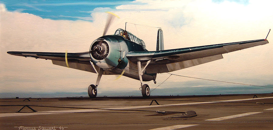 Military Painting - Coming Aboard by Marc Stewart