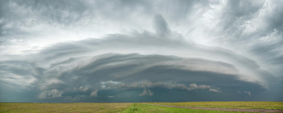 Panoramic Photograph - Coming From The North by Scott Cordell